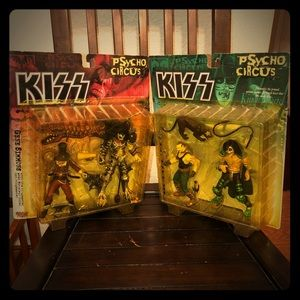 2-1998 Psycho Circus KISS Figures